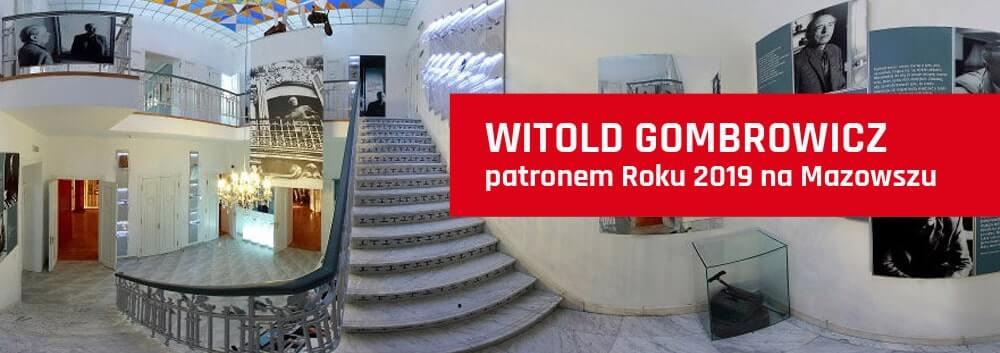 WITOLD GOMBROWICZ patronem Roku 2019 na Mazowszu