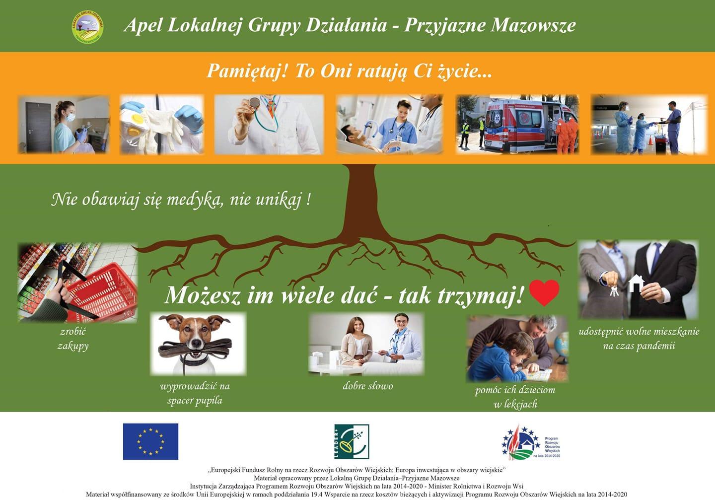 Apel Lokalnej Grupy Działania - Przyjazne Mazowsze