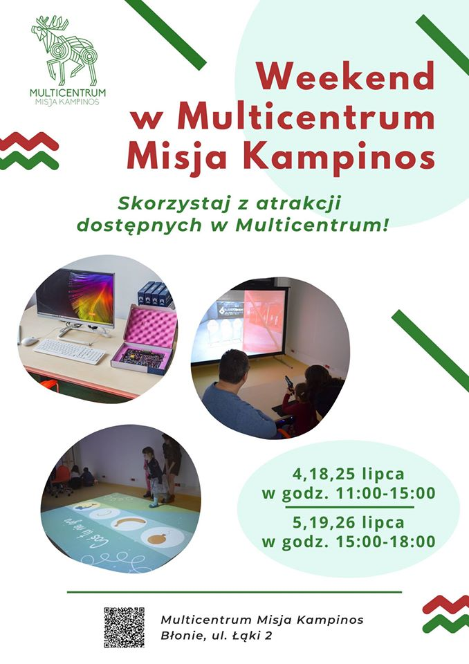 Weekend w Multicentrum Misja Kampinos
