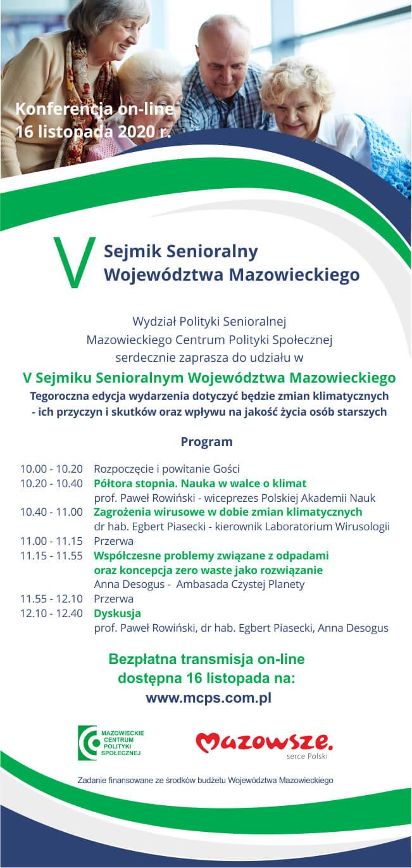 V Sejmik Senioralny Województwa Mazowieckiego