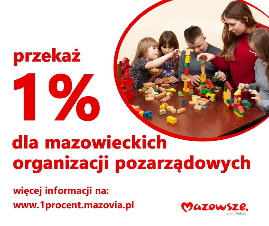 1% dla mazowsza