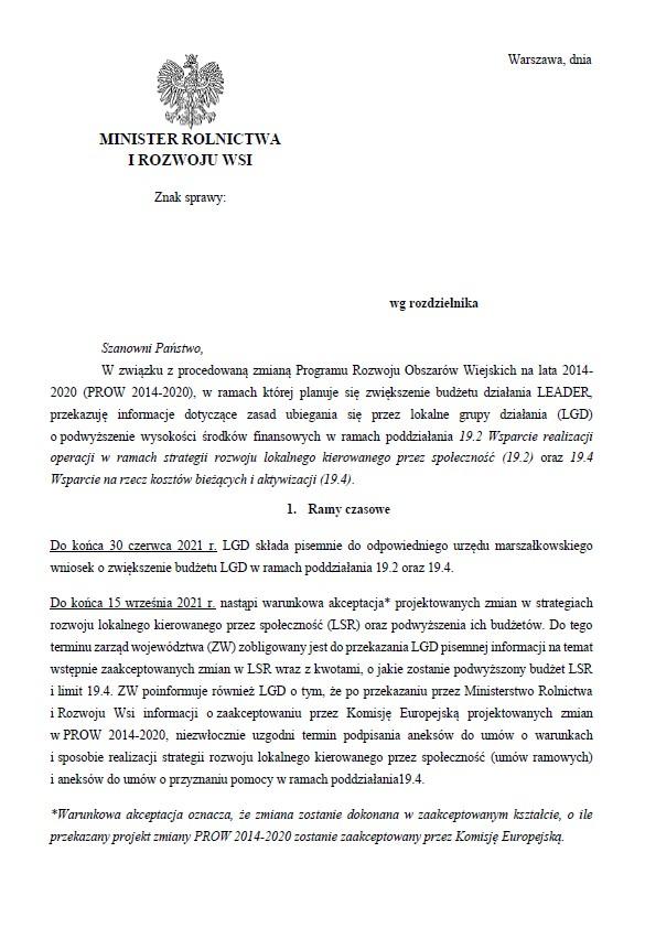 projekt pisma LSR